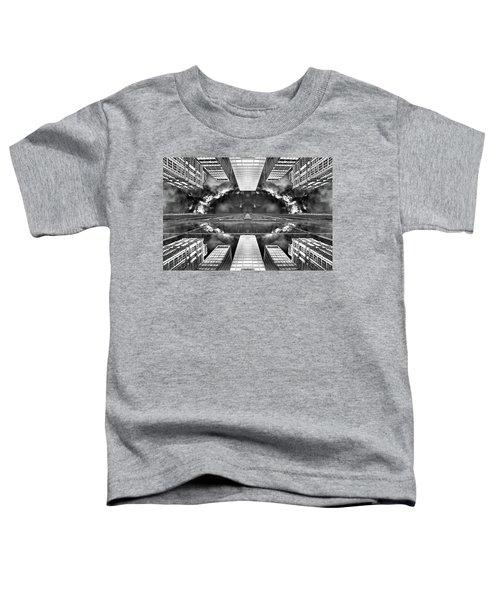 Worlds End  Toddler T-Shirt by Az Jackson