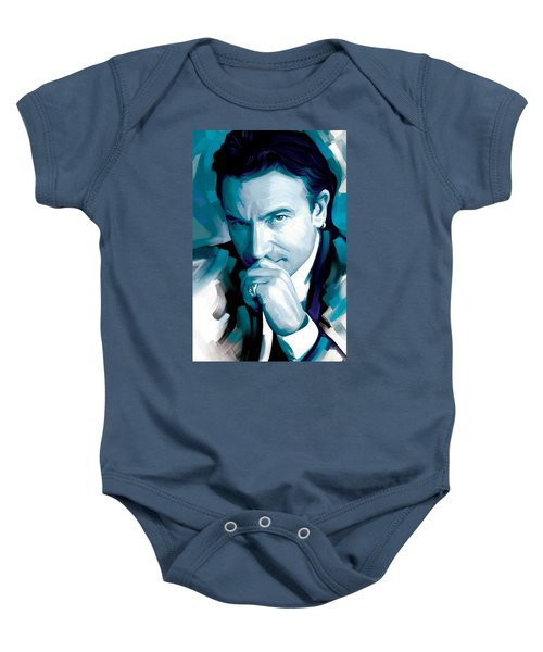 Bono U2 Artwork 4 Baby Onesie by Sheraz A
