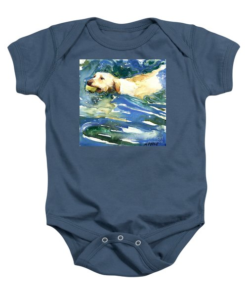 Lake Effect Baby Onesie by Molly Poole