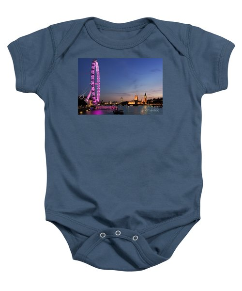 London Eye Baby Onesie by Rod McLean