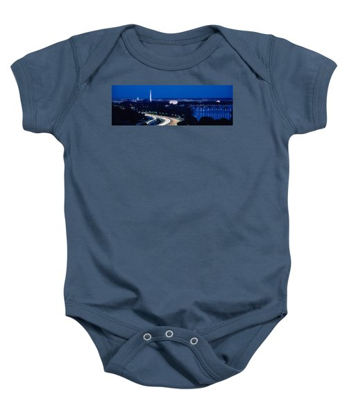 Traffic On The Road, Washington Baby Onesie by Panoramic Images