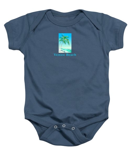 Venice Beach Baby Onesie by Brian Edward