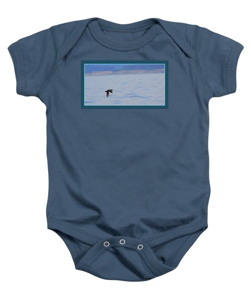 Flying Rhino Baby Onesie by BYETPhotography