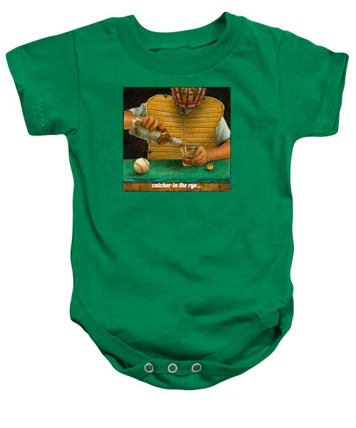 Catcher In The Rye... Baby Onesie by Will Bullas