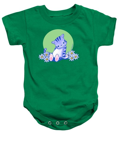 Yittle Kitty Baby Onesie by Kim Niles