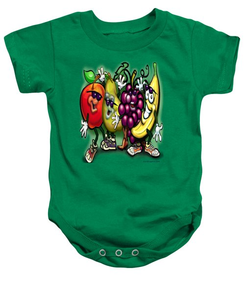 Fruits Baby Onesie by Kevin Middleton