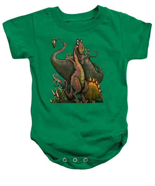 Dinosaurs Baby Onesie by Kevin Middleton