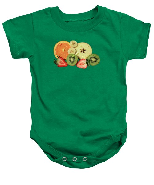 Wet Fruit Baby Onesie by Shane Bechler