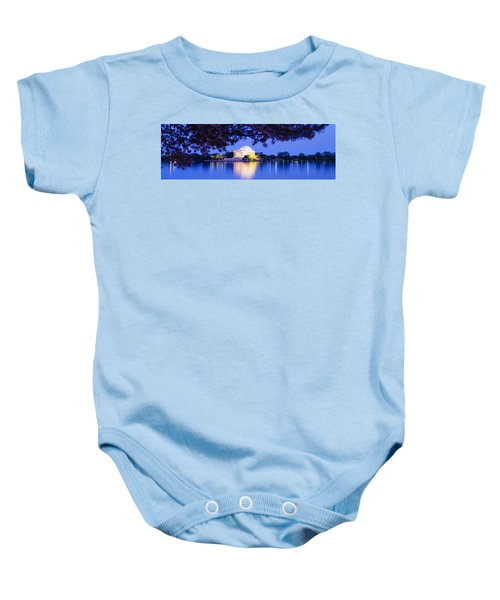 Jefferson Memorial, Washington Dc Baby Onesie by Panoramic Images