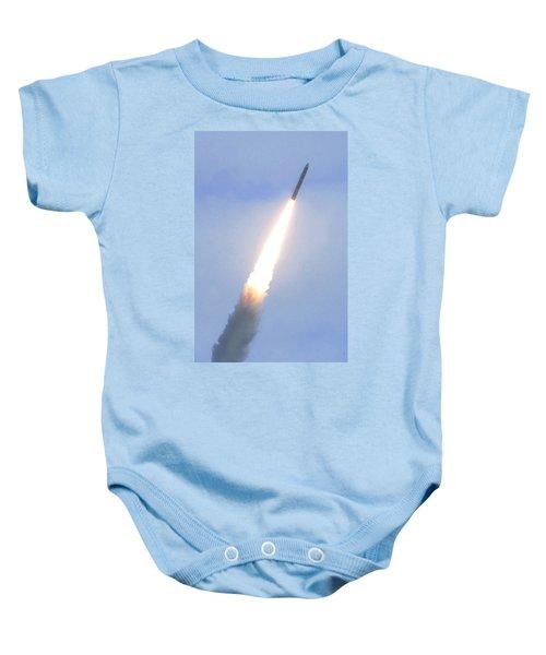 Minotaur Iv Lite Launch Baby Onesie by Science Source
