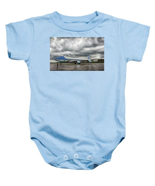 Air Force One Baby Onesie by Mountain Dreams