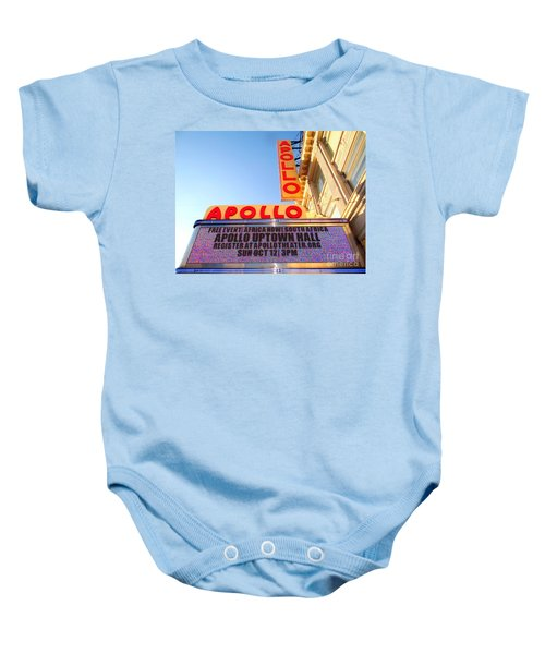 At The Apollo Baby Onesie by Ed Weidman