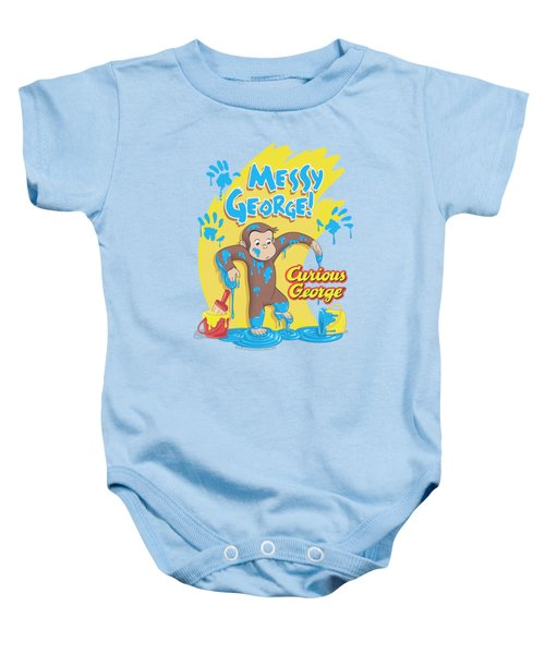 Curious George - Messy George Baby Onesie by Brand A