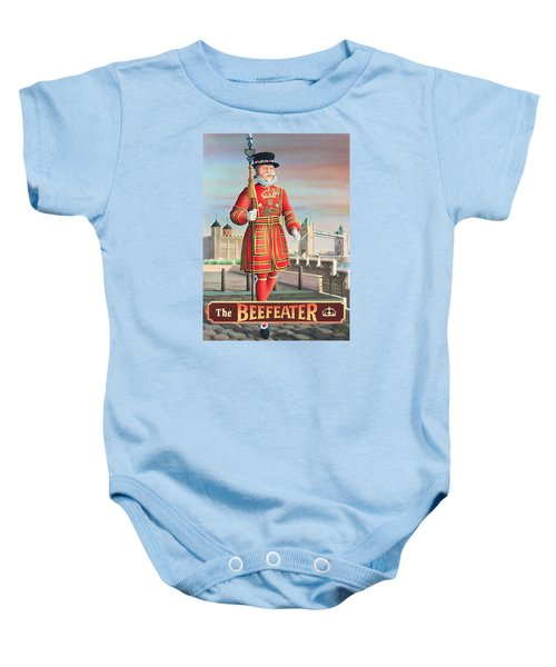 The Beefeater Baby Onesie by Peter Green