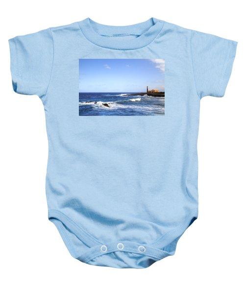 Tenerife - Garachico  Baby Onesie by Joana Kruse