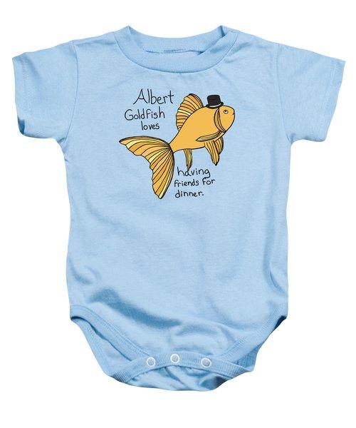 Albert Fish Baby Onesie by Tamera Dion