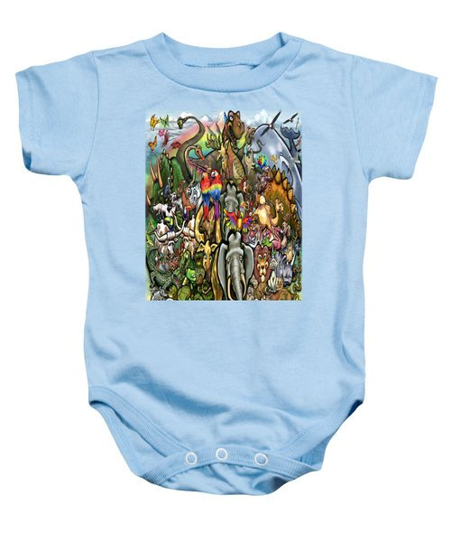 All Creatures Great Small Baby Onesie by Kevin Middleton