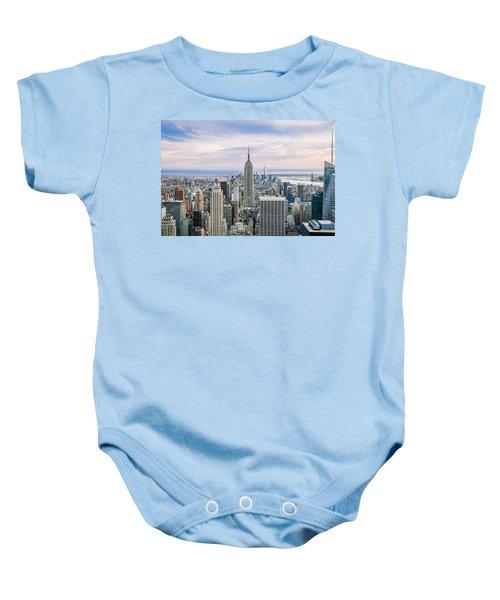 Amazing Manhattan Baby Onesie by Az Jackson