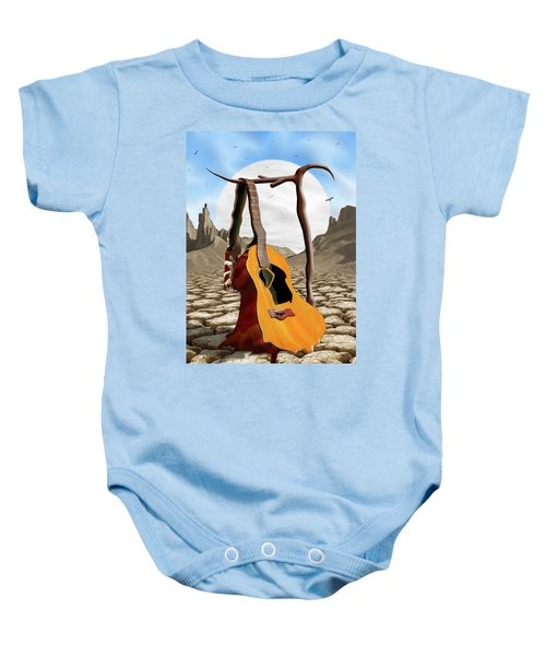 An Acoustic Nightmare Baby Onesie by Mike McGlothlen