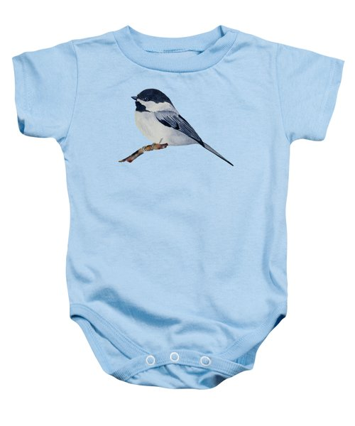 Chickadee Baby Onesie by Francisco Ventura Jr