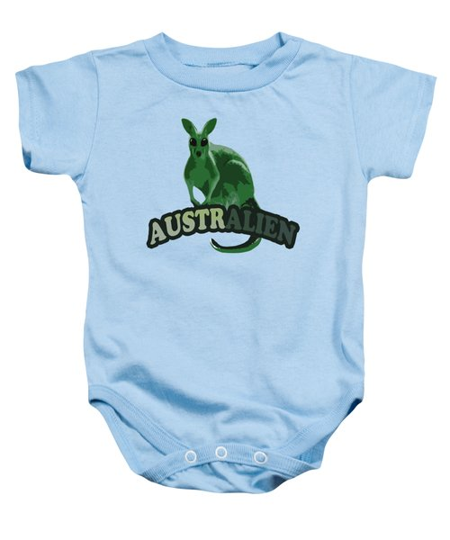 Australian Baby Onesie by Voldemaras Lemon