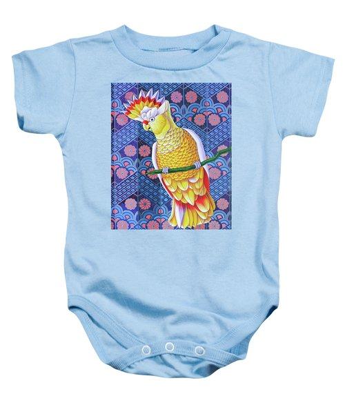 Cockatoo Baby Onesie by Jane Tattersfield