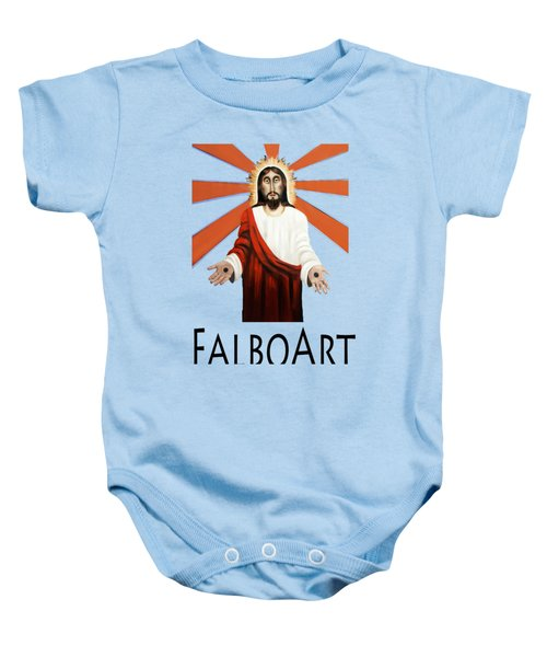 Come T-shirt Baby Onesie by Anthony Falbo