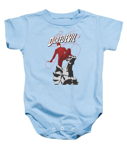 Daredevil Baby Onesie by Troy Arthur Graphics