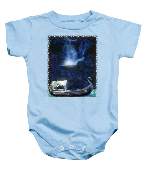 Faerie Cavern  Baby Onesie by Sharon and Renee Lozen