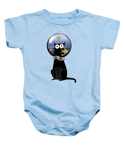 Guilty  Baby Onesie by Andrew Hitchen