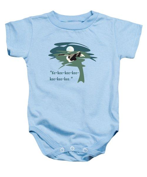 Kelingking Hornbill Baby Onesie by Geckojoy Gecko Books
