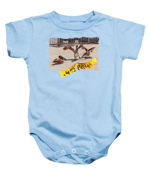 Let's Party Baby Onesie by John M Bailey