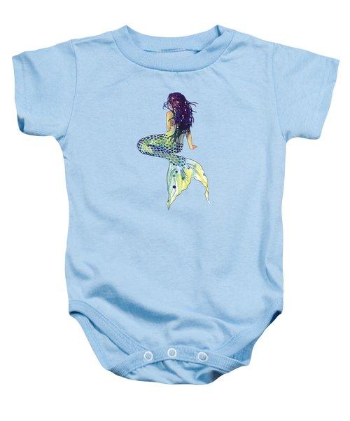 Mermaid Baby Onesie by Sam Nagel