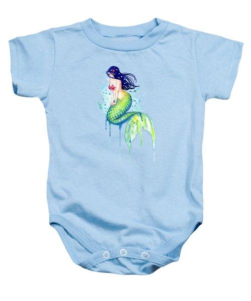 Mermaid Splash Baby Onesie by Sam Nagel