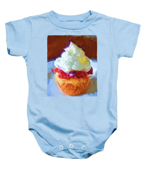 My Surreal Cupcake Baby Onesie by Jackie VanO