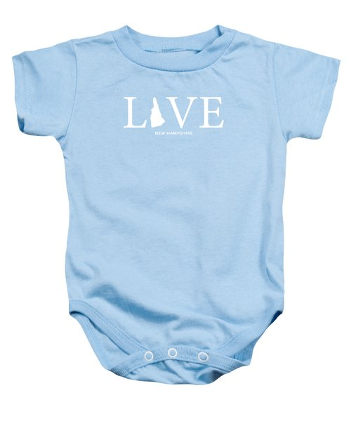 Nh Love Baby Onesie by Nancy Ingersoll
