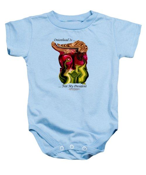 Onionhead Transparency Baby Onesie by Robert Woodward