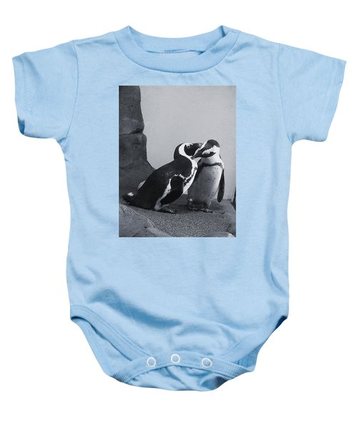 Penguins Baby Onesie by Sandy Taylor