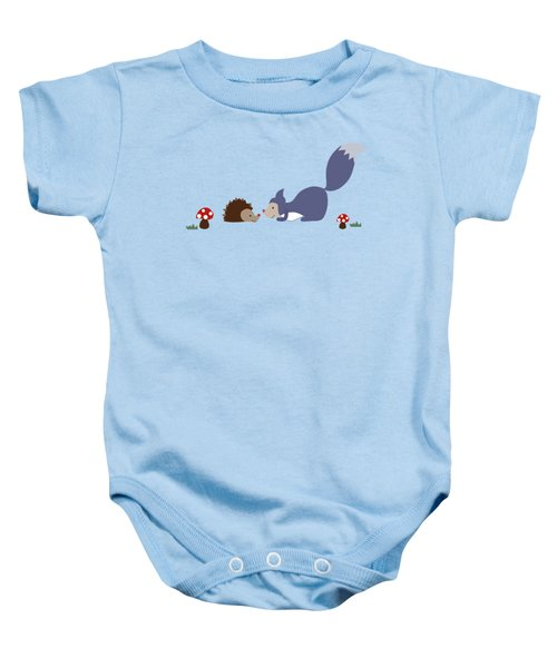 Say Yes To New Adcentures Baby Onesie by Kathrin Legg
