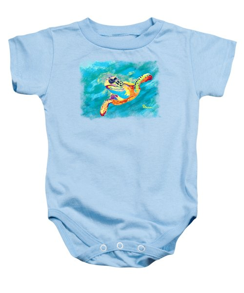 Slow Ride Baby Onesie by Kevin Putman