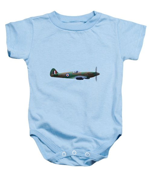 Spitfire Baby Onesie by Rob Lester Wirral