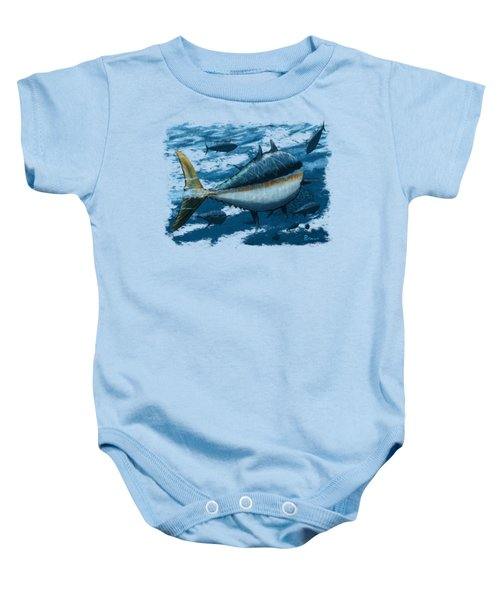 The Chase Baby Onesie by Kevin Putman