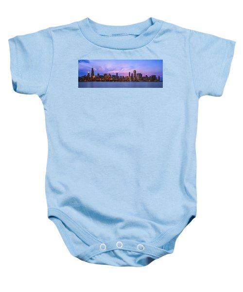 The Windy City Baby Onesie by Scott Norris