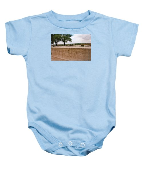 Baby Onesie featuring the photograph Their Name Liveth For Evermore by Travel Pics