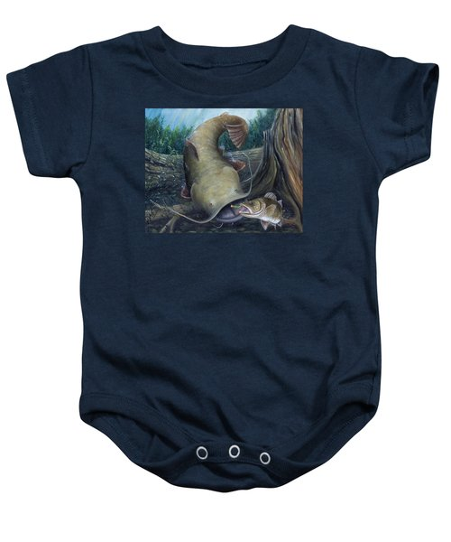 Top Dog Baby Onesie by Catfish Lawrence