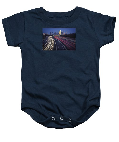 Dallas Afterglow Baby Onesie by Rick Berk