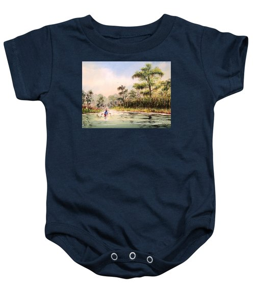 Wacissa River  Baby Onesie by Bill Holkham