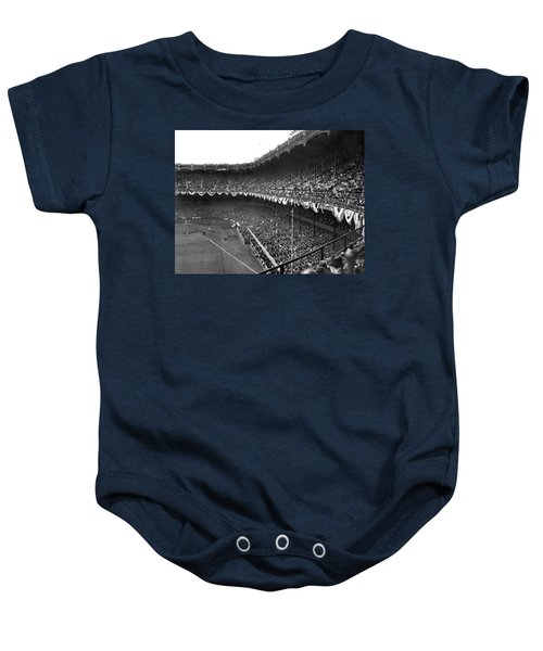 World Series In New York Baby Onesie by Underwood Archives