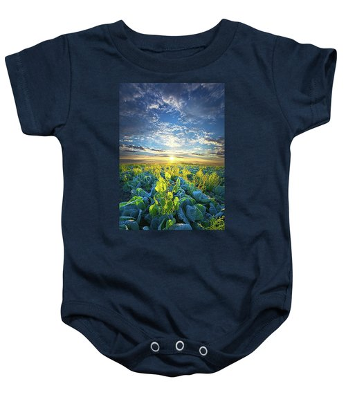 All Joined As One Baby Onesie by Phil Koch
