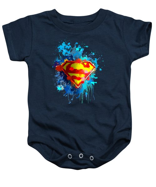 Smallville Baby Onesie by Anthony Mwangi